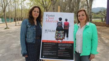 Las concejalas de Cultura y Festejos presentan las Fiestas de San Marcos 2015