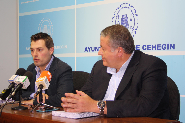 El Alcalde de Cehegín y el Consejero de Fomento se aúnan para que el ...