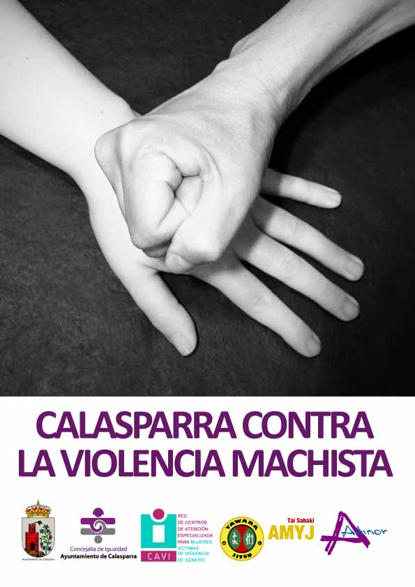 Cartel semana contra Violencia Machista
