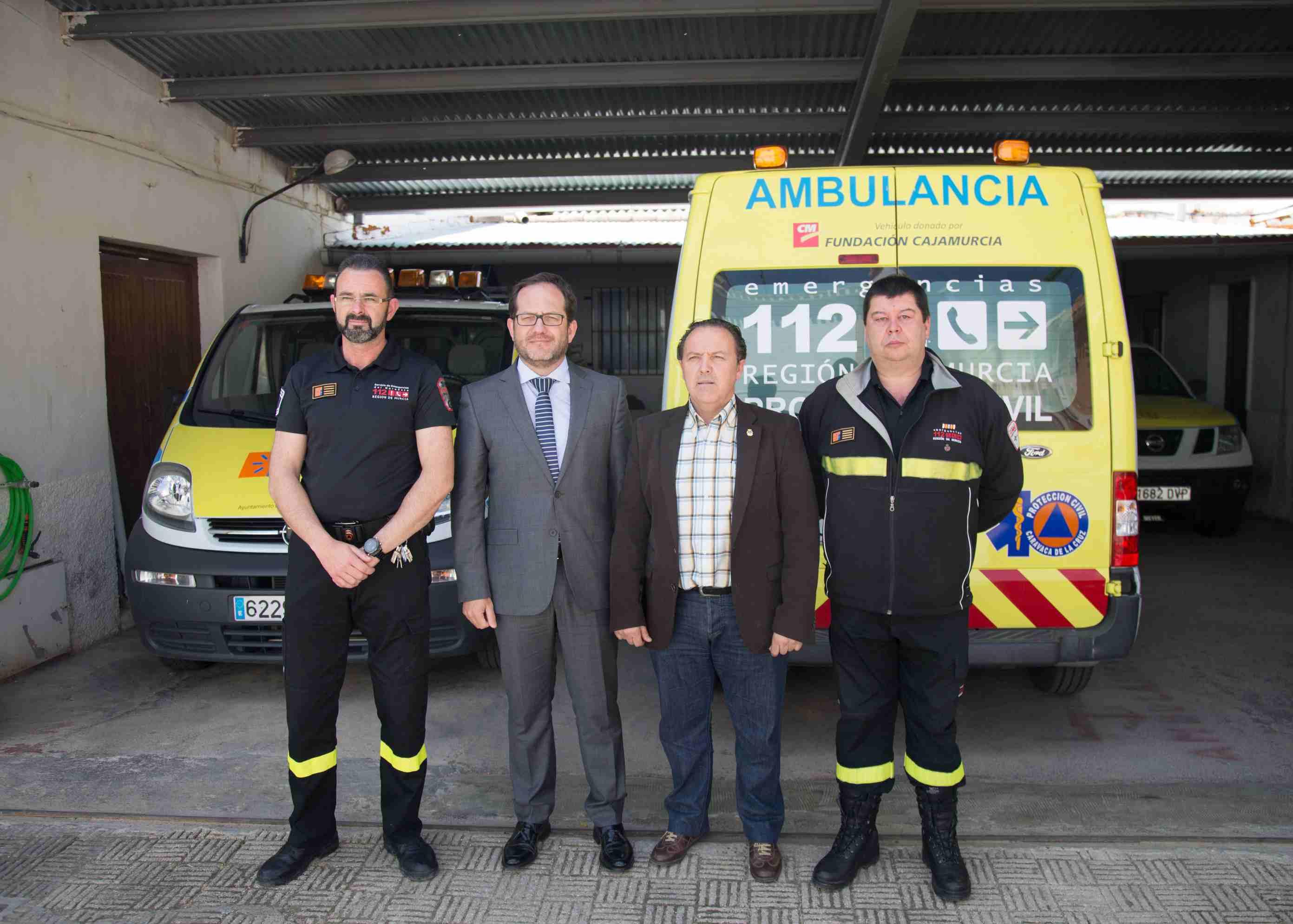 Manuel Durán y Pedro Antonio Muñoz coordinan los trabajos del Puesto ...